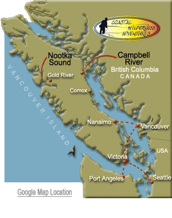 Travel Information To Campbell River And Vancouver Island - Google river maps