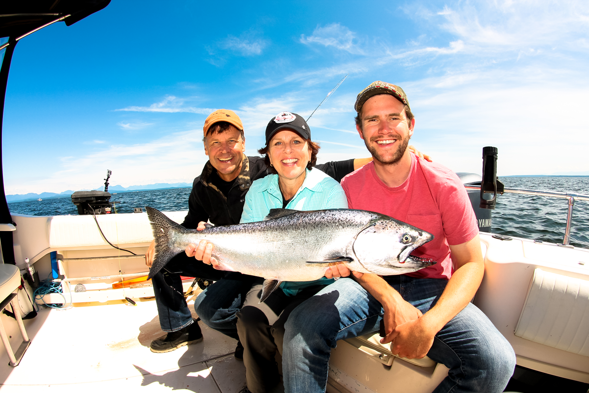 Saltwater Fishing in Campbell River, British Columbia, Canada