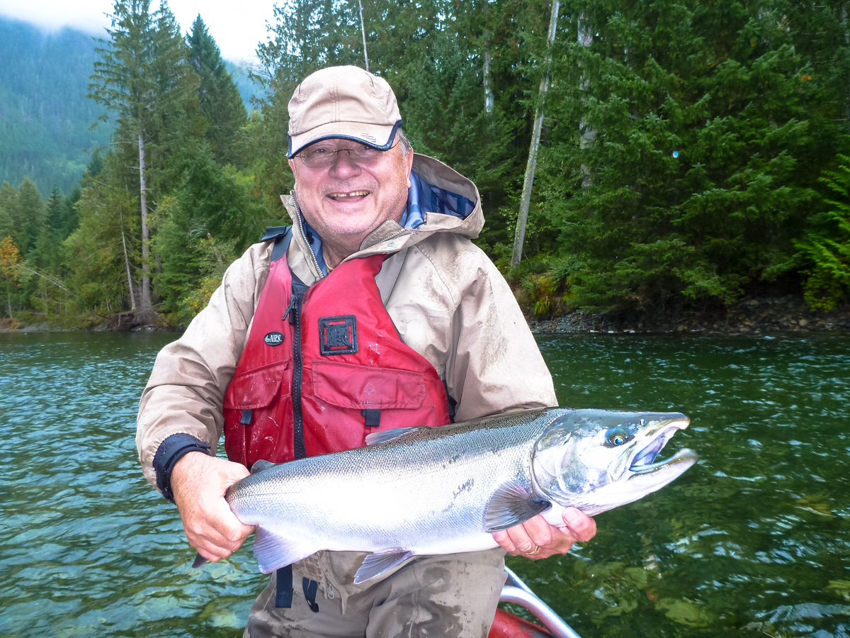 campbell river salmon fly fishing and gear fishing trips