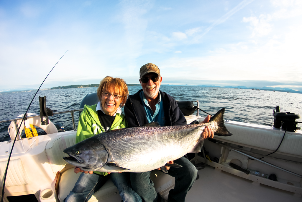 Ocean fishing pictures campbell river for Saltwater fishing video