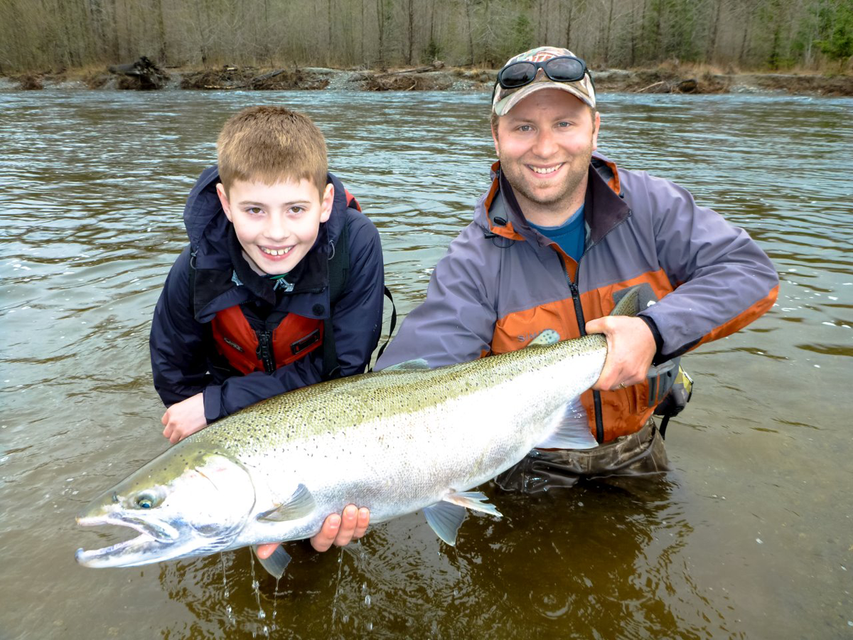 Vancouver island steelhead fishing trips for Campbell river fishing